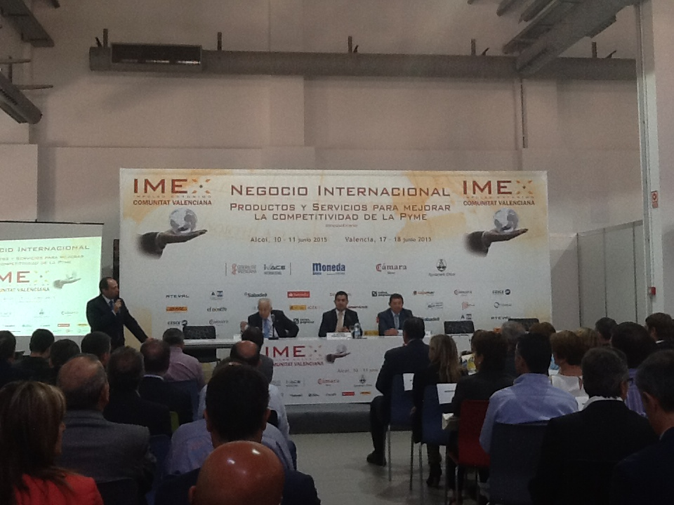 Feria IMEX - IBIAE Inauguracion