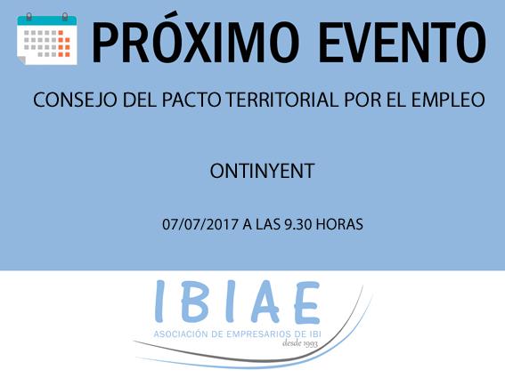 IBIAE - CONSEJO DEL PACTO TERRITORIAL POR EL EMPLEO
