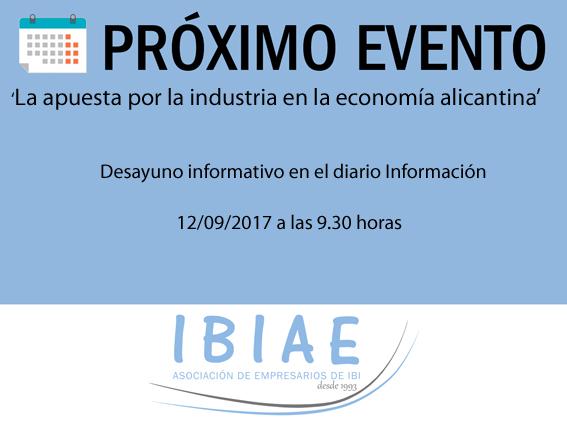 IBIAE - DESAYUNO INFORMARTIVO DEL DIARIO INFORMACION
