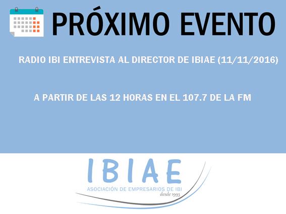 IBIAE - ENTREVISTA A HECTOR TORRENTE EN RADIO IBI