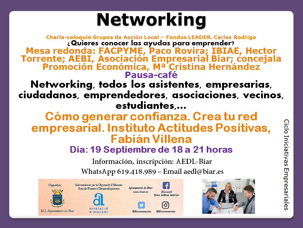 IBIAE - NETWORKING EN BIAR
