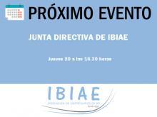 IBIAE - JUNTA DIRECTIVA OCTUBRE 2016